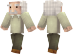 Albert Einstein Skin
