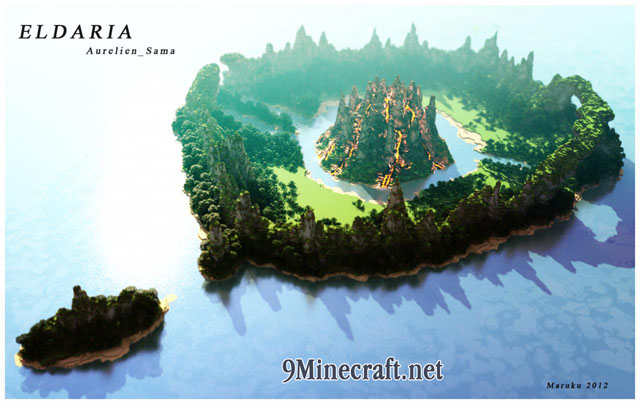 Eldaria Map 1 12 2/1 12 for Minecraft - 9Minecraft Net