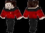Red Star Trek Uniform Skin