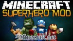 Super Heroes Mod 1.7.2/1.6.4/1.5.2
