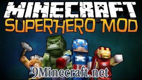 Super Heroes Mod - 9Minecraft Net