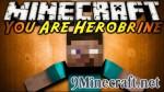 You Are Herobrine Mod