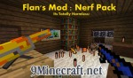 Flan's Nerf Pack Mod 1.7.10/1.7.2/1.6.4