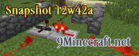 Minecraft-Snapshot-12w42a