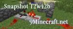Minecraft Snapshot 12w42b Download