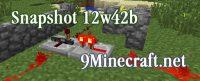 Minecraft-Snapshot-12w42b