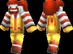 Ronald McDonald Skin
