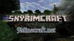 The-Elder-Scrolls-V-Skyrim-Minecraft-Mod