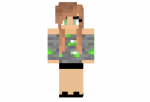 Emerald Girl Skin