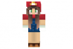 Mario Girl Skin