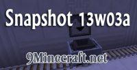 Minecraft-Snapshot-13w03a