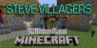 Steve-Villagers-Mod