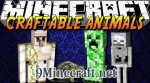 Craftable Animals Mod 1.8/1.7.10