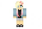 Pink-dyed-hair-girl-skin