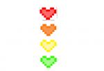 Rainbow Heart Person Skin