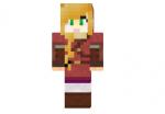 Red Link Girl Skin
