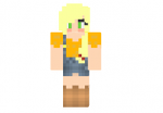 Applejack-girl-skin