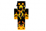 Awesome Fire Creeper Skin