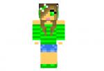 Cute-green-girl-skin