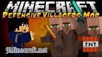 Defensive-Villagers-Mod