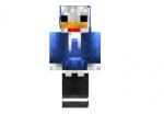 Dj Chicken Blue Skin
