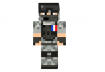 French Soldier Skin