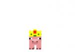 Pig King Skin