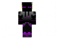Purple-ender-dj-skin