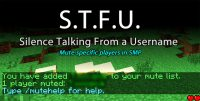 Silence-Talking-From-a-Username-Mod