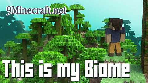 This is my Biome Map - 9Minecraft.Net