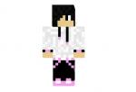 Black Pink Hoodie Boy Skin