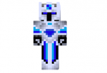 Blue Knight Skin