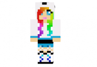 Cute-hoodie-panda-girl-skin