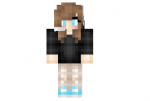 Gamer Girl Cute Skin