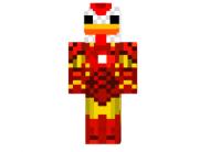 Iron-chicken-skin