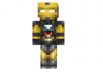 Iron Man Gold and Silver Skin