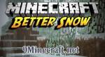 Better Snow Mod 1.6.4/1.5.2
