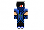 Blue Creeper Hunter Skin