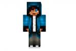 Blue Hoodie Skin