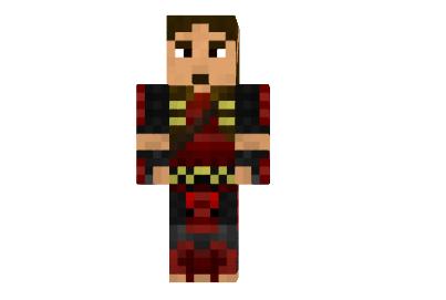 скины для майнкрафт 1.7.2 золотой самурай #9