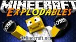 Explodables Mod 1.7.10/1.7.2/1.6.4