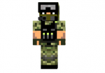 Irish Army Skin
