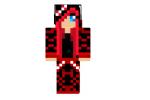 Red Emo Girl Skin