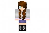 Adorable-brunette-girl-skin