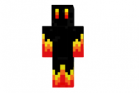 Black-fire-skin