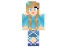 Blue Dimond Girl Skin