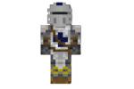 Blue Warrior Skin