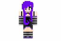 Cute-emo-girl-purple-skin