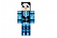 Cyborg-penguin-skin
