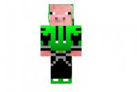 Hooded-pig-skin
